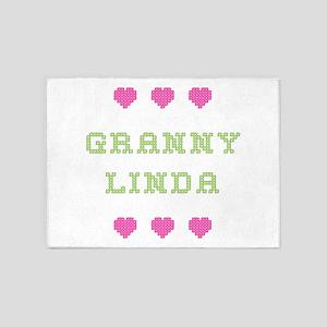 Granny Linda 5'x7' Area Rug