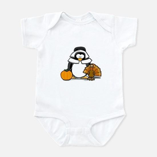 Pilgrim Girl Penguin Infant Bodysuit