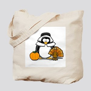 Pilgrim Girl Penguin Tote Bag
