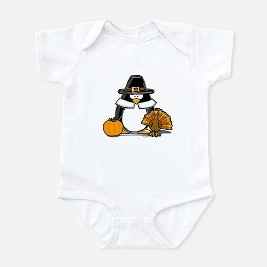 Pilgrim Boy Penguin Infant Bodysuit