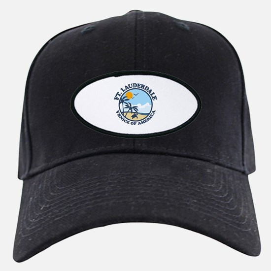 Fort Lauderdale - Beach Design. Baseball Hat