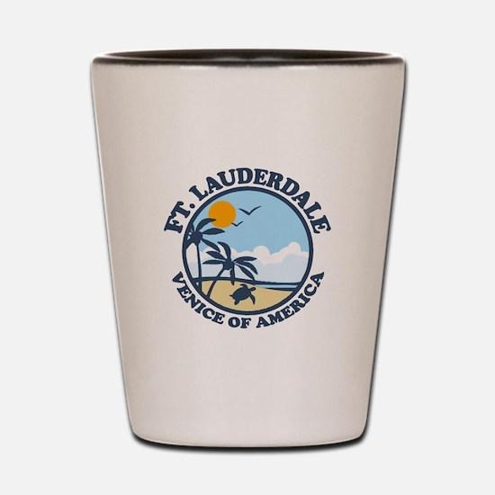 Fort Lauderdale - Beach Design. Shot Glass