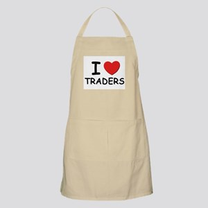 I Love traders BBQ Apron