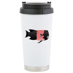 California Sheephead male fish Travel Mug