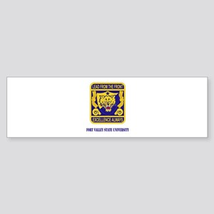 Fort Valley State University with Text Sticker (Bu