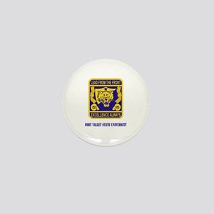 Fort Valley State University with Text Mini Button