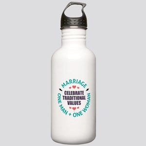 Celebrate Traditional Values Water Bottle