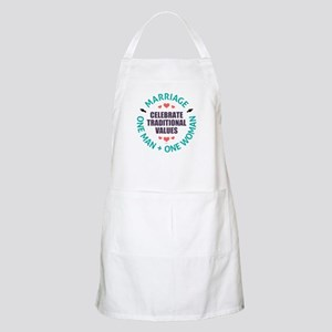 Celebrate Traditional Values Apron