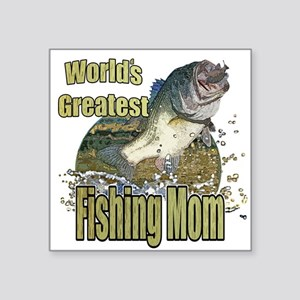 Fishing Mom Sticker