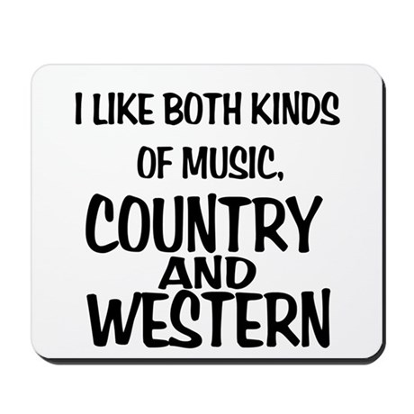 Country & Western Mousepad