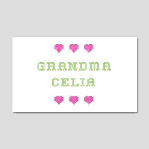 Grandma Celia 20x12 Wall Peel