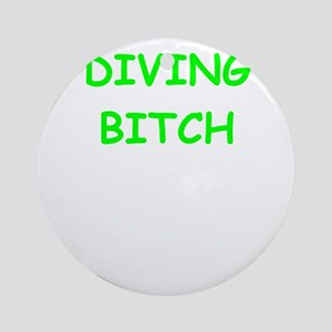 diving Ornament (Round)