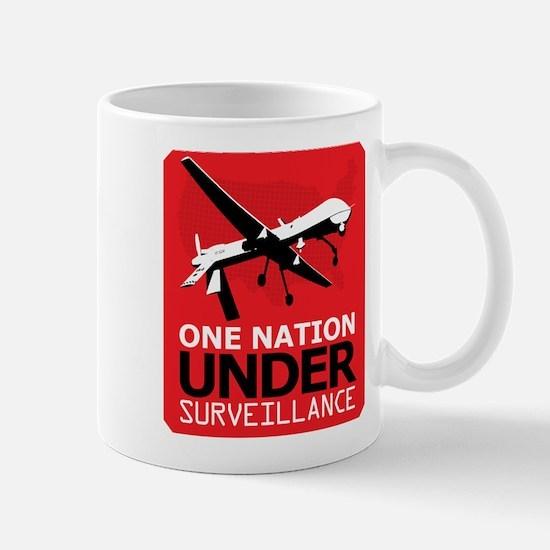Drone Surveillance Nation Mug