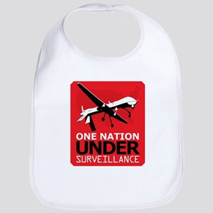 Drone Surveillance Nation Bib