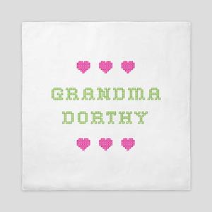 Grandma Dorthy Queen Duvet