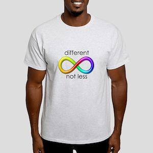 Different. Not Less. Light T-Shirt
