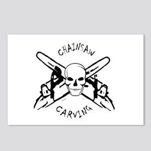 Chainsaws Postcards (Package of 8)