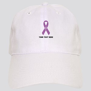 Purple Awareness Ribbon Customized Cap