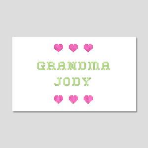 Grandma Jody 20x12 Wall Peel