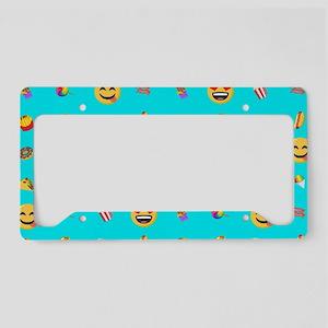 Emoji Food License Plate Holder