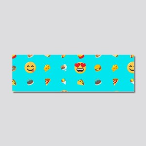 Emoji Food Car Magnet 10 x 3