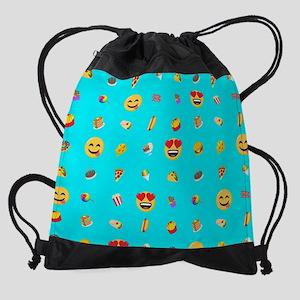 Emoji Food Drawstring Bag