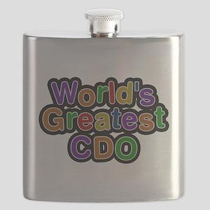 Worlds Greatest CDO Flask