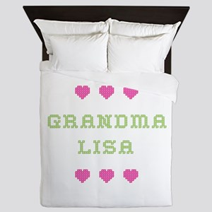 Grandma Lisa Queen Duvet
