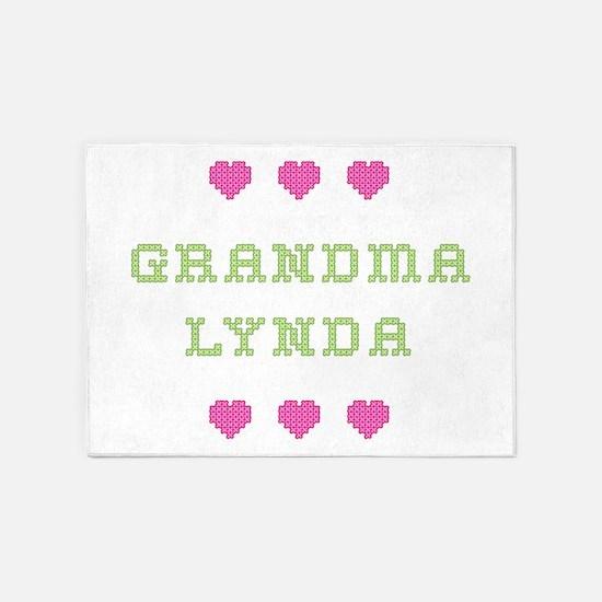 Grandma Lynda 5'x7' Area Rug