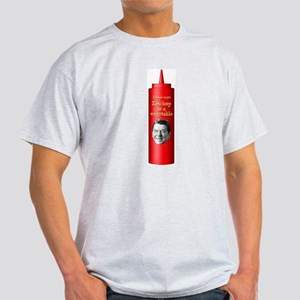 Reagan Ketchup Ash Grey T-Shirt