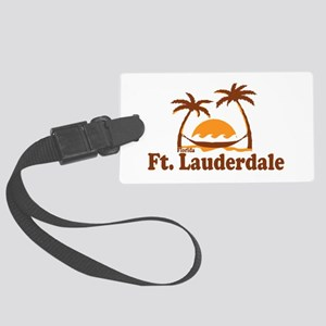 Fort Lauderdale - Palm Trees Design. Large Luggage