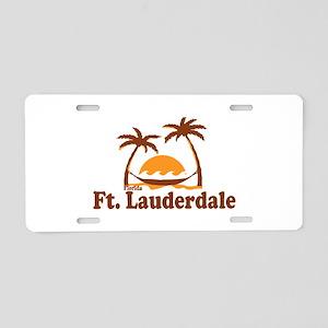 Fort Lauderdale - Palm Trees Design. Aluminum Lice