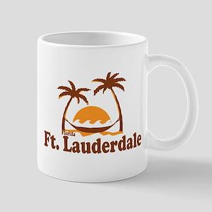 Fort Lauderdale - Palm Trees Design. Mug