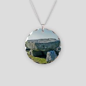 Four Maols Dolmen Necklace Circle Charm