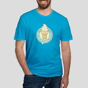 Ice Cream Taste Tester Men's Fitted T-Shirt (dark)