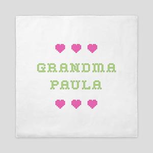 Grandma Paula Queen Duvet