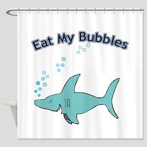 Eat My Bubbles Shower Curtain