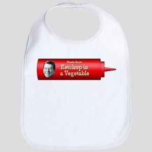 Reagan Ketchup Bib