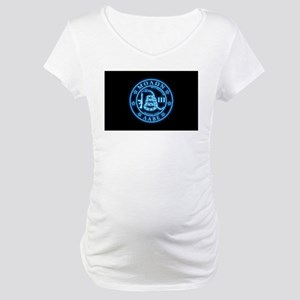 Come and Take It (BlueGlow) Maternity T-Shirt