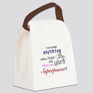Super cocheter Canvas Lunch Bag