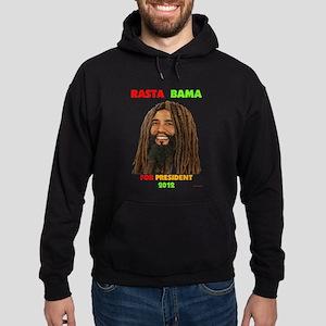 Rasta Obama for President Obama in Dreadlocks Hood