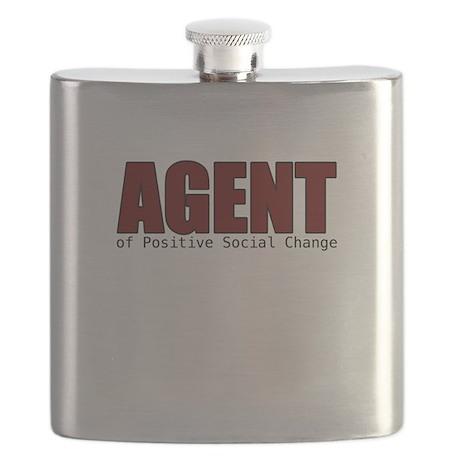 Agent of Positive Social Change Flask