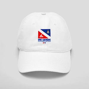 Dive The Caymans Baseball Cap