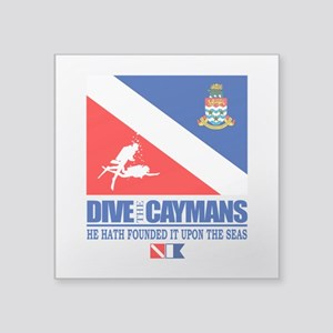 Dive The Caymans Sticker