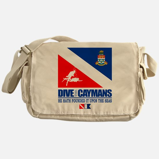 Dive The Caymans Messenger Bag