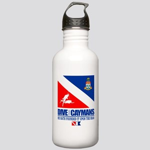 Dive The Caymans Water Bottle