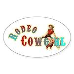 rodeo cg glow supr sz Sticker