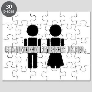 Gluten Free Kid. Puzzle
