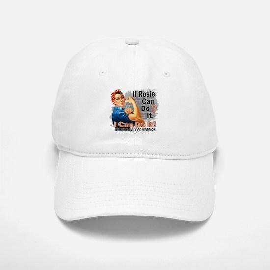 If Rosie Can Do It Uterine Cancer Baseball Baseball Cap