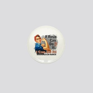 If Rosie Can Do It Uterine Cancer Mini Button